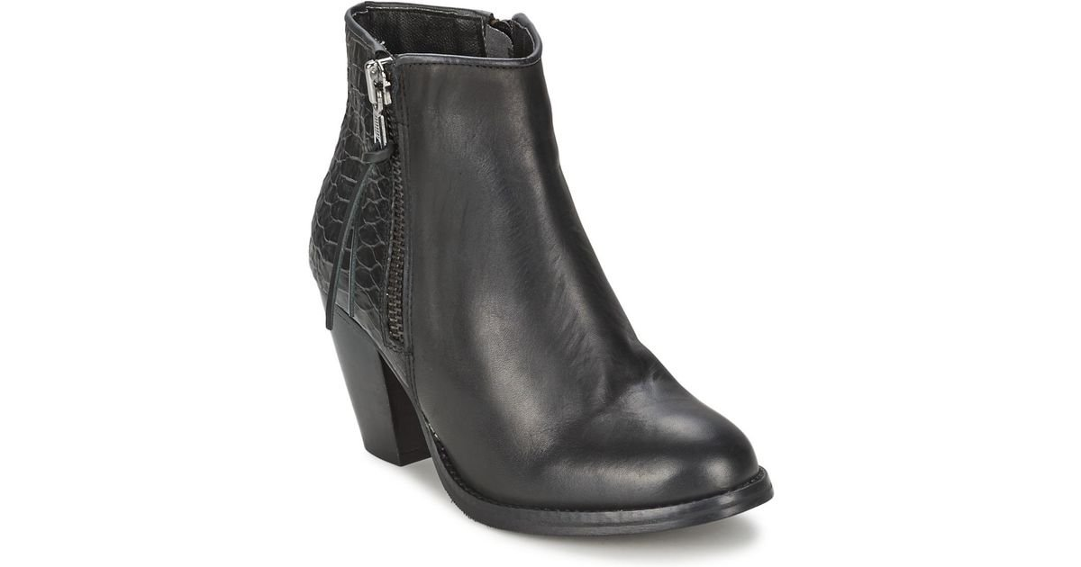 sports shoes 0b72e 1bcca Bronx - Bmadoc Women's Low Ankle Boots In Black - Lyst
