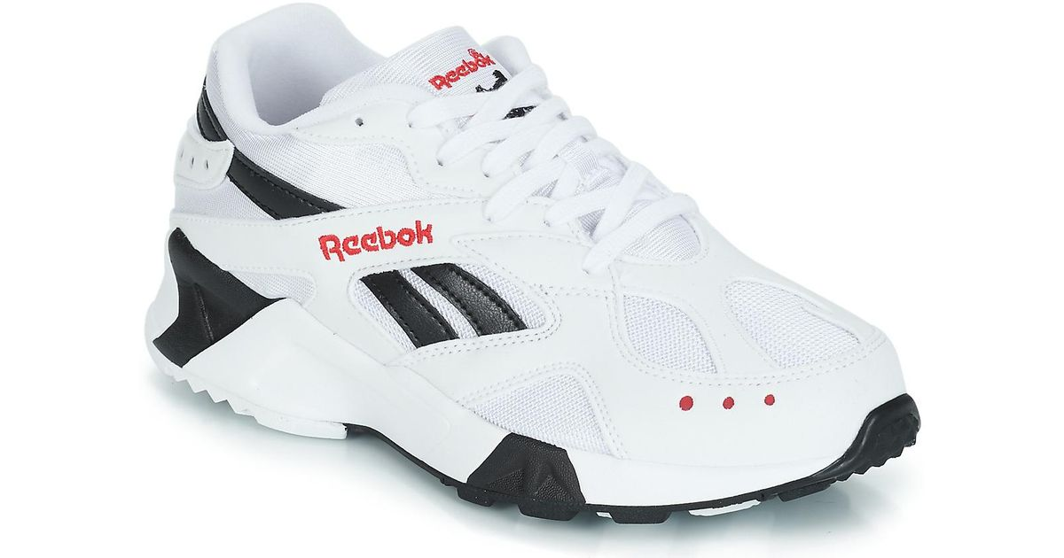 Reebok Aztrek Men s Shoes (trainers) In White in White for Men - Lyst 7a5be4999