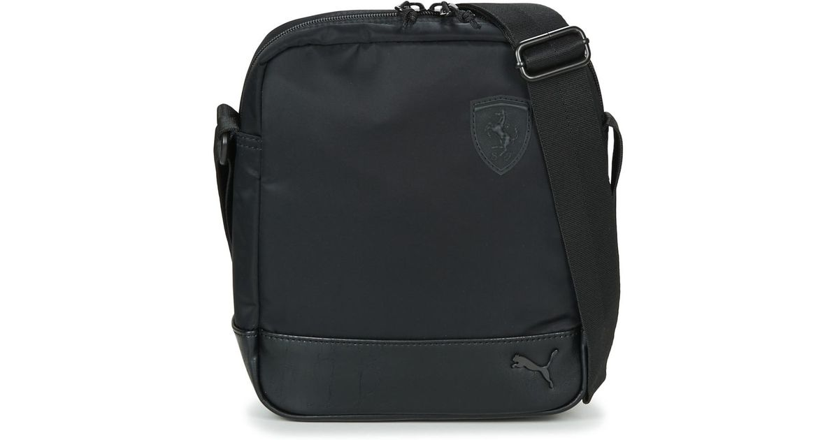 8d7bf2480e PUMA Ferrari Ls Portable Men s Pouch In Black in Black for Men - Lyst