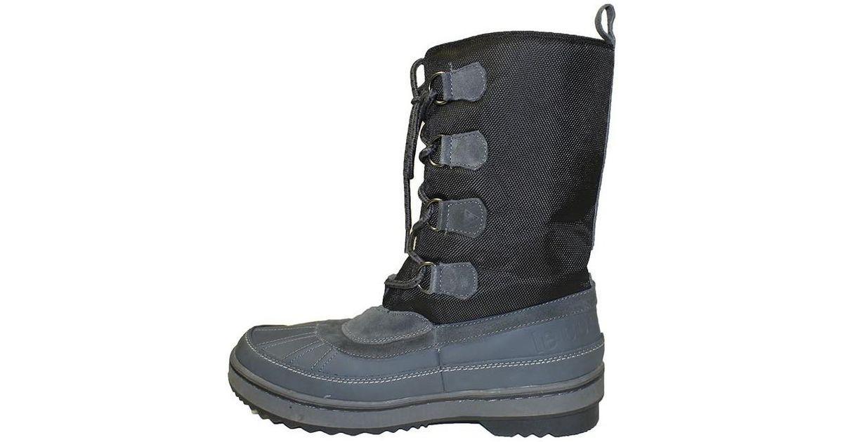 ea8c48db67d Le Coq Sportif Moonboot Dean Men's Snow Boots In Black in Black for Men -  Lyst