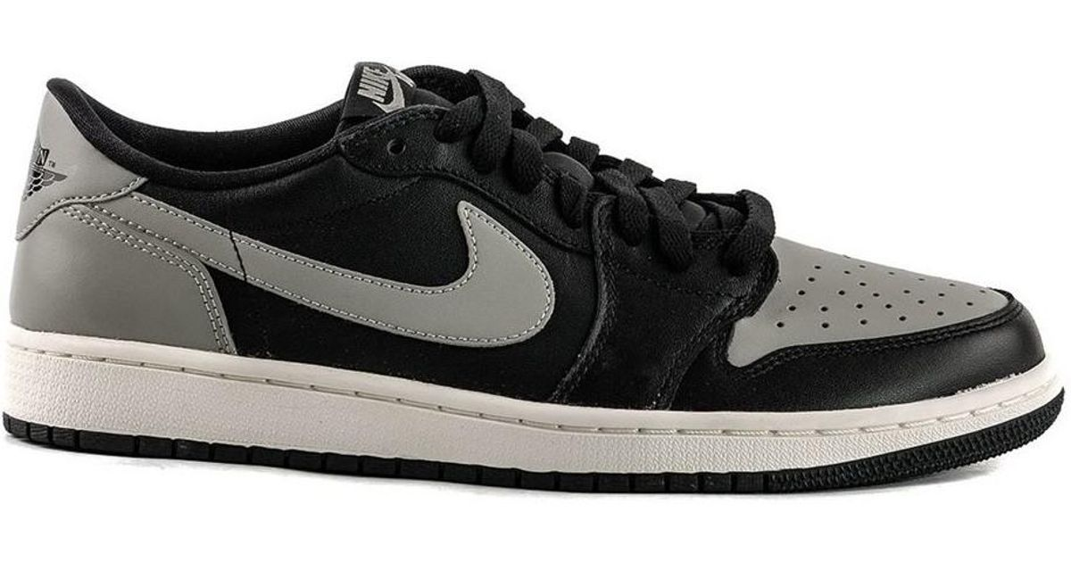 8246657f36856d Nike Air Jordan 1 Retro Low Og Shadow Men s Shoes (trainers) In Grey in Gray  for Men - Lyst
