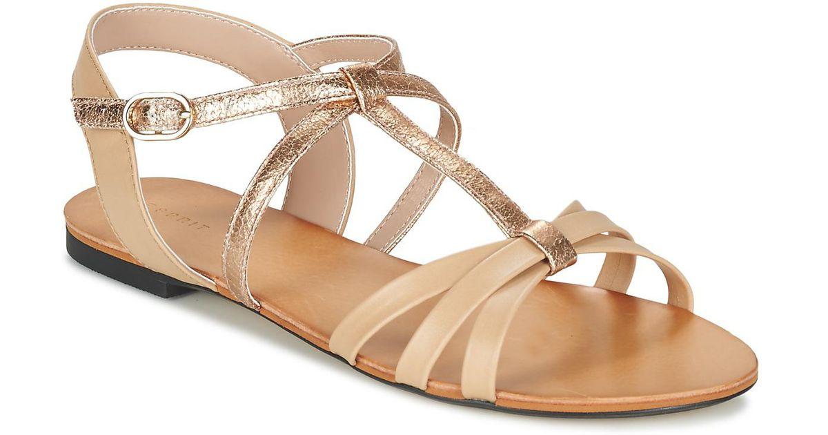 Esprit ADYA - Sandals - white uJiIwmk5IO