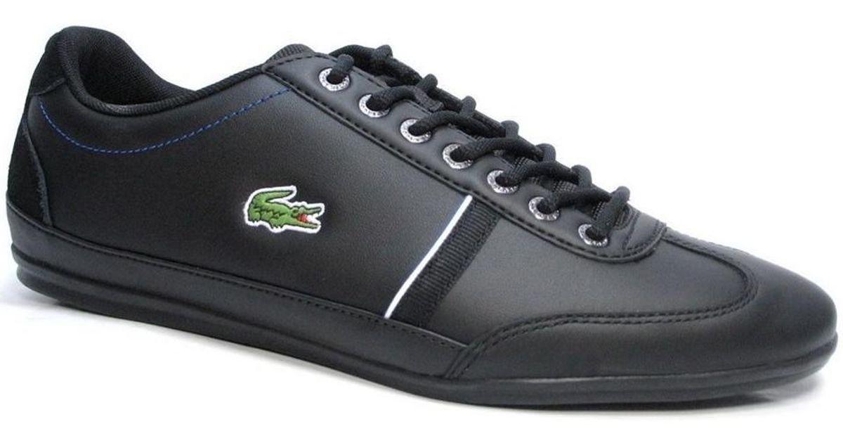 7f204299d9dcdf Lacoste Misano Sport 118 1 Cam Blkdk Blu Men s Shoes (trainers) In Black in  Black for Men - Lyst