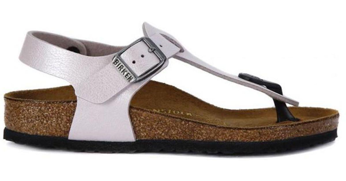 5eb88c3642d Birkenstock Kairo Rose Men s Sandals In White in White for Men - Lyst