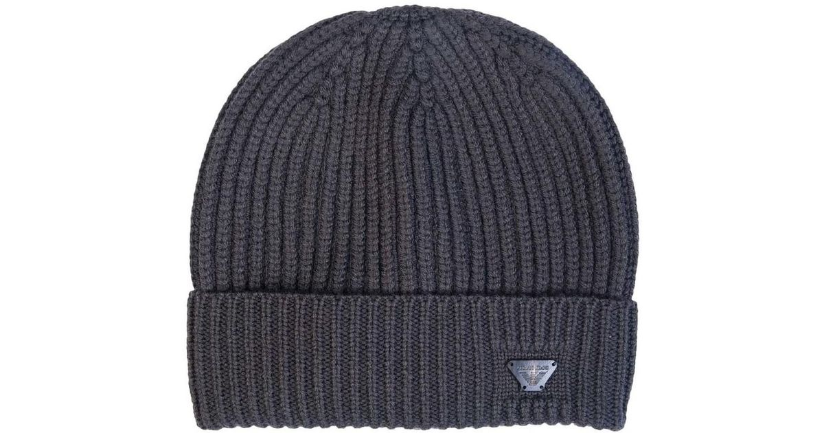 65af0d2fb8c Armani Jeans Hat 934029 7a757 Men s Beanie In Brown in Brown for Men - Save  40% - Lyst