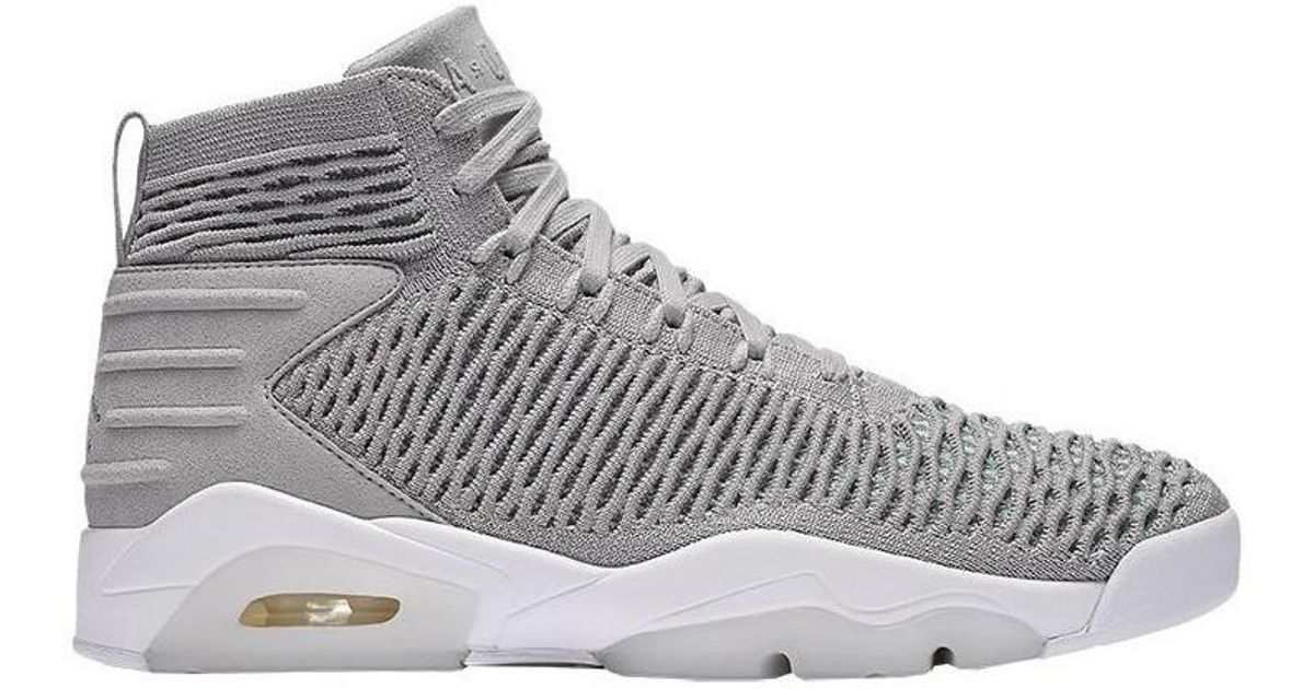 66312e4ed7b2 Nike Jordan Flyknit Elevation 23 Men s Basketball Trainers (shoes) In Grey  in Gray for Men - Lyst