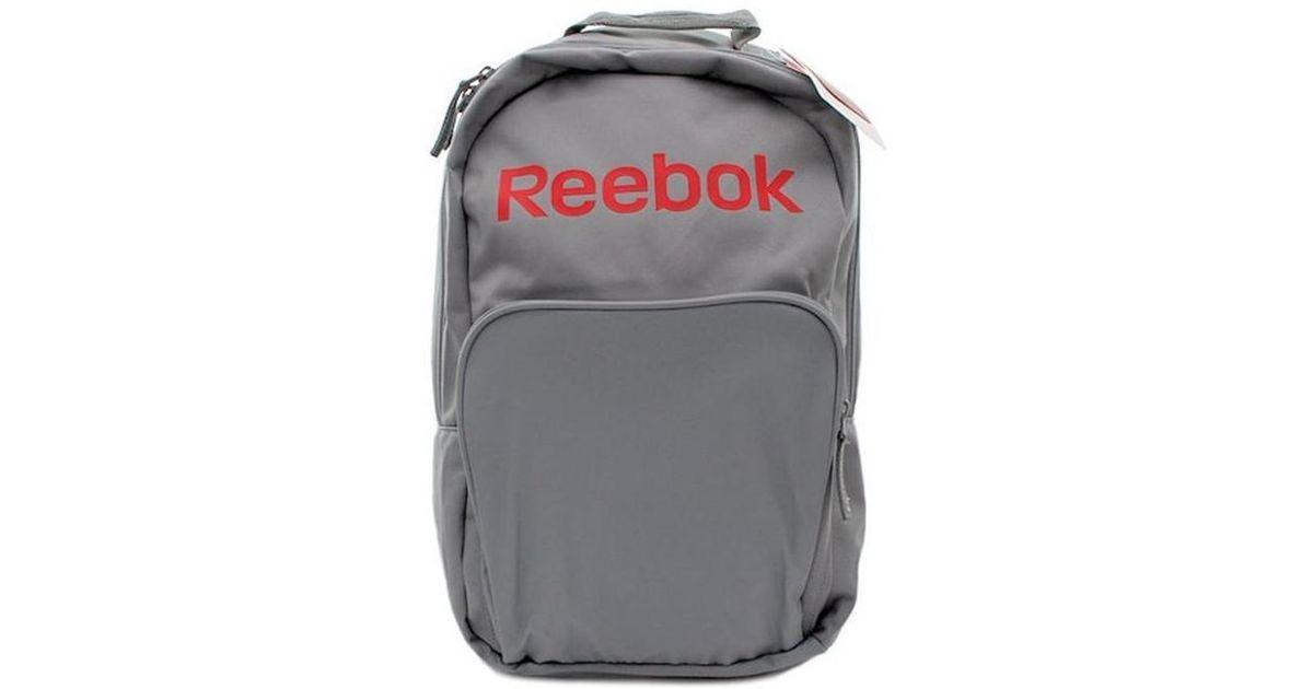 Reebok Fc M Backpack Women s Backpack In Grey in Gray - Lyst