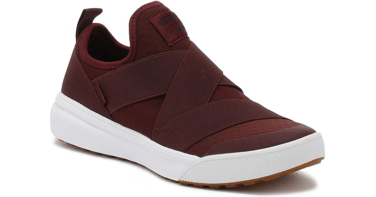 00dcc1ff72418c Vans Port Royale Burgundy Ultrarange Gore Trainers Women s Slip-ons (shoes)  In Red in Red - Lyst