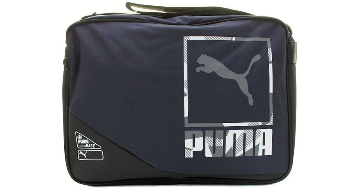 PUMA Echo Shoulder Bag Men s Messenger Bag In Multicolour in Black for Men  - Lyst b0985305e176c