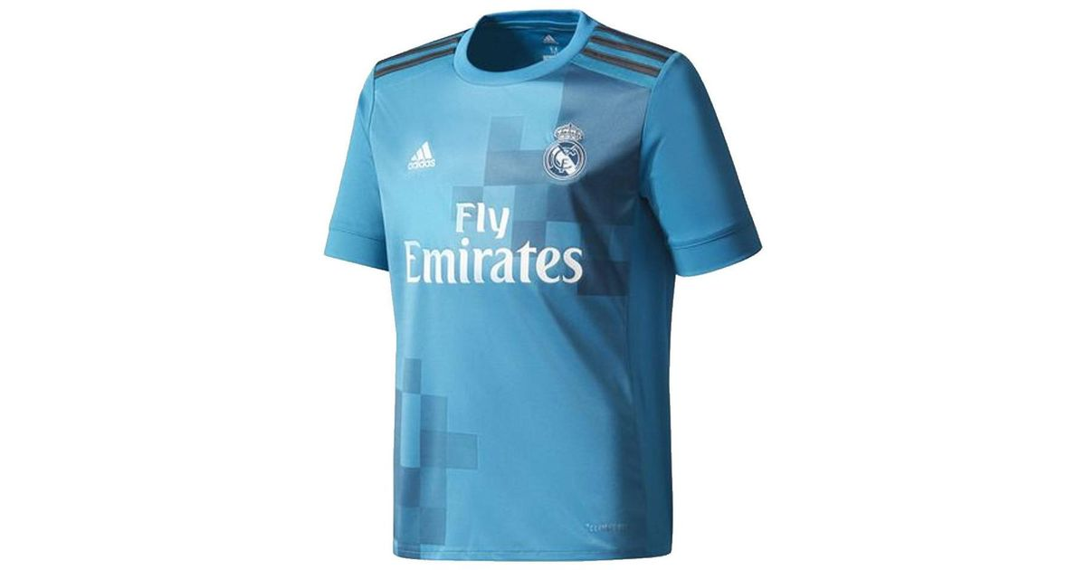 low priced 110e1 85b01 Adidas - Blue 2017-18 Real Madrid Third Shirt (bale 11) - Kids Men's T  Shirt In Other for Men - Lyst
