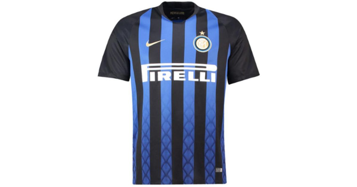 Nike 2018-19 Inter Milan Home Football Shirt (Nainggolan 14) - Kids Men s T  Shirt In Black in Black for Men - Lyst 4a4e04ab6