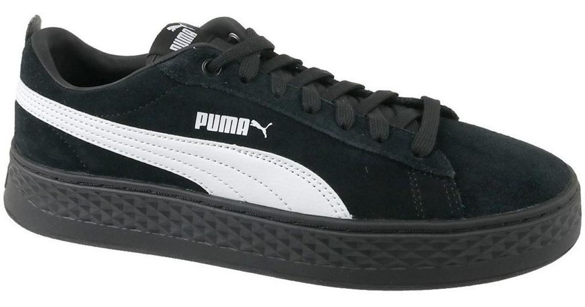 0d24b1382266f4 PUMA Smash Platform Suede Women s Shoes (trainers) In Black in Black - Lyst