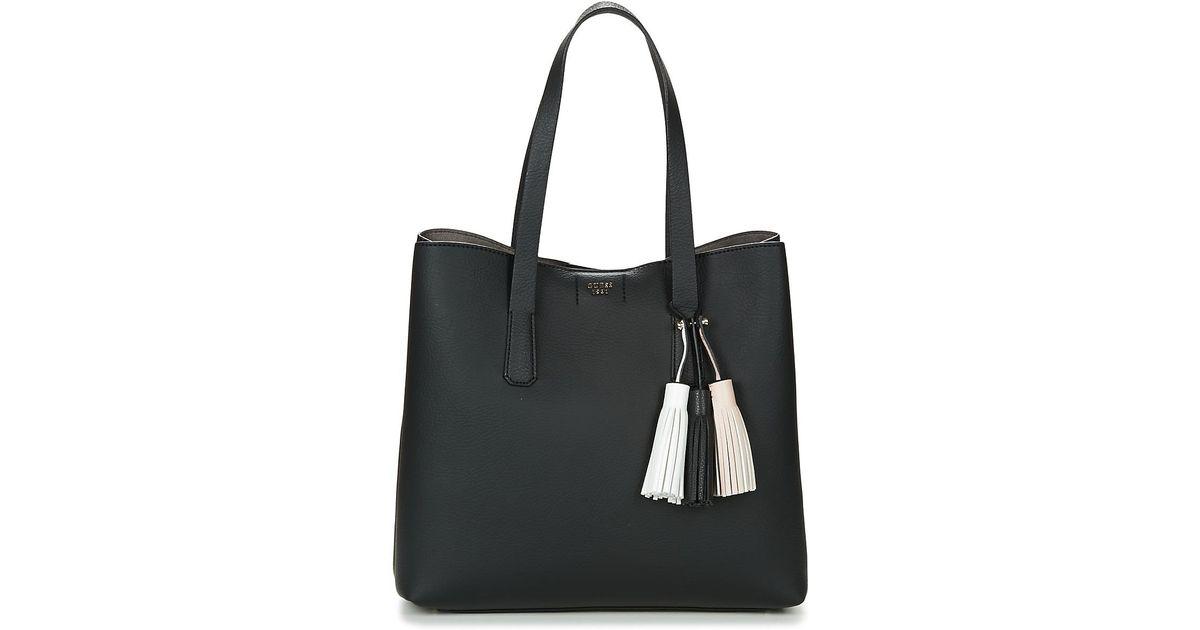 a7b189560e008 Guess Trudy Tote Women s Shopper Bag In Black in Black for Men - Lyst