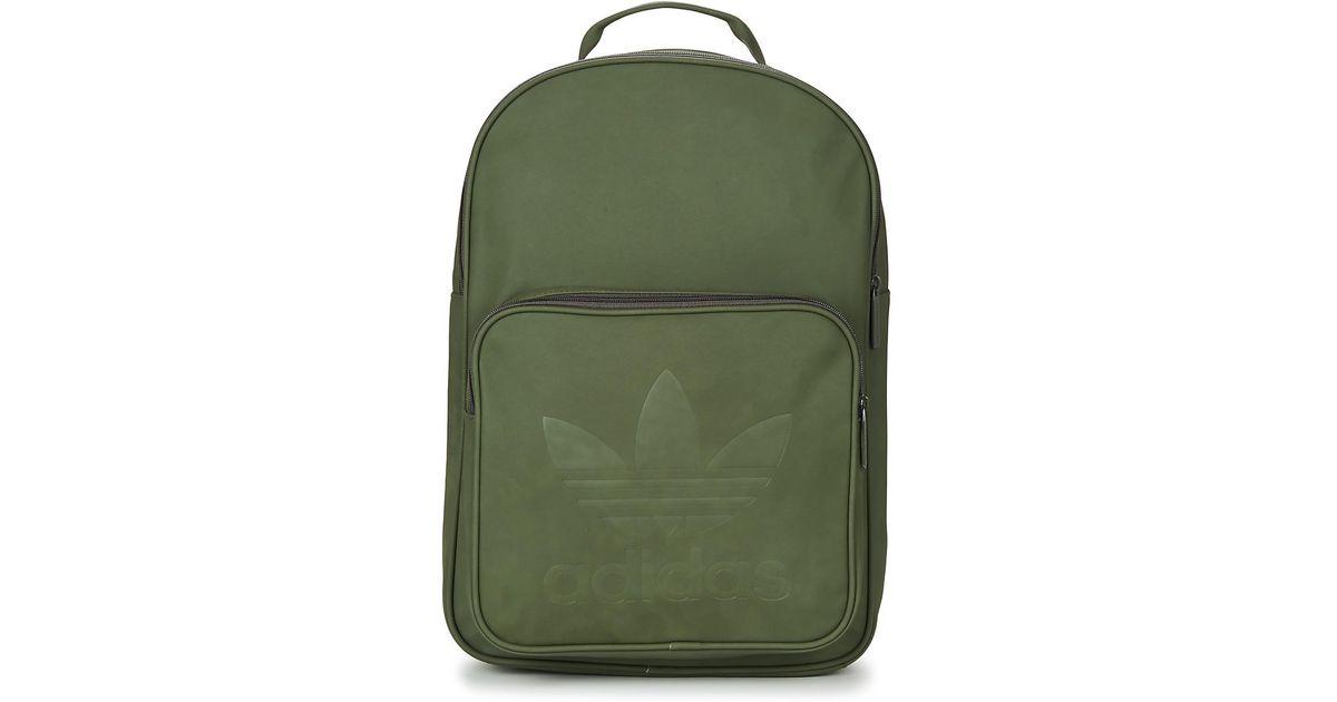 adidas Bp Classic Men s Backpack In Green in Green for Men - Lyst 3844de6292f30