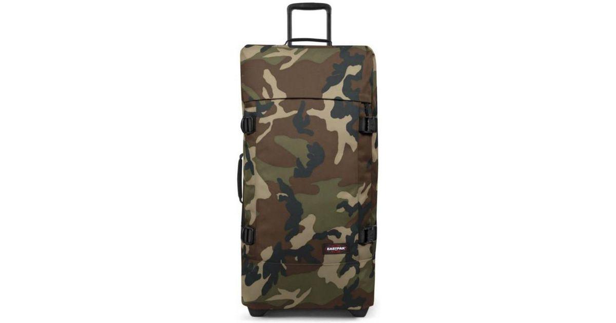 Eastpak Tranverz L Camo Women s Soft Suitcase In Green in Green - Lyst 42e45e82f8