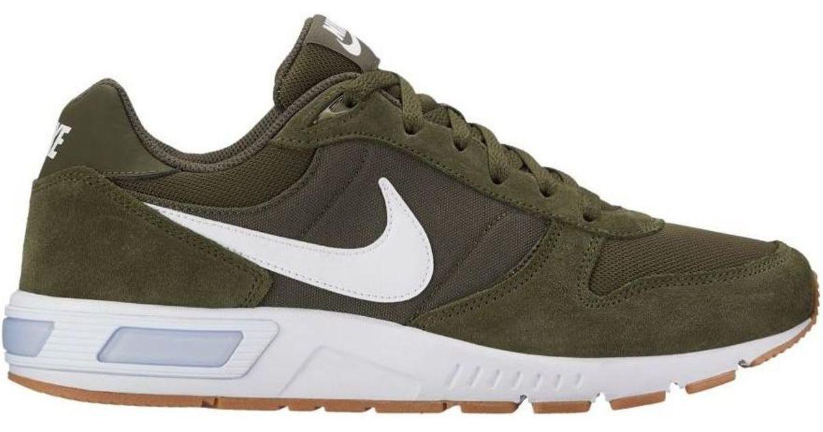 Lyst - Nike Men's Nightgazer Shoe 644402 302 Men's Shoes (trainers) In  Green in Green for Men