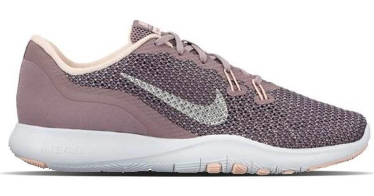 Nike Flex Tr 7 Bionic 917713 200 Women s Shoes (trainers) In Purple in  Purple - Lyst b174f9f730