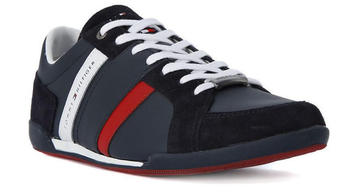 c6b184936928 Tommy Hilfiger Crosta Midnight Men s Shoes (trainers) In Blue in Blue for  Men - Lyst