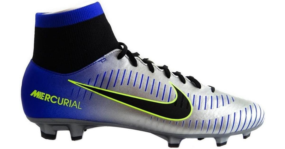 cd7cdb54d Nike Mercurial Victory Vi Df Njr Fg Puro Fenomeno Men s Shoes (high-top  Trainers) In Blue in Blue for Men - Lyst