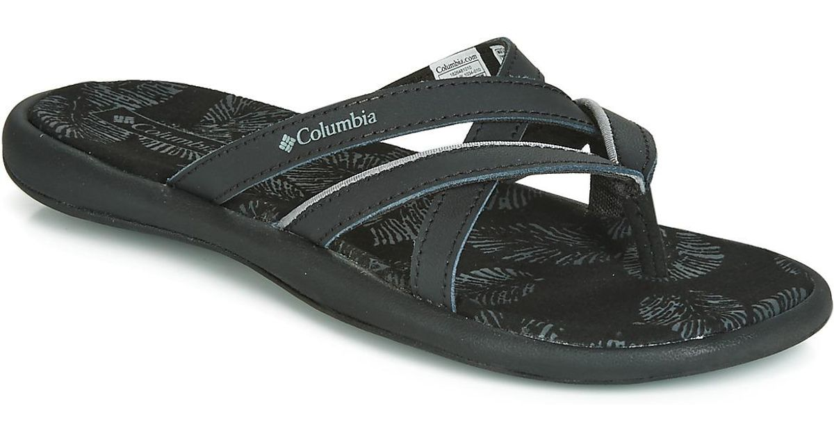 458c4aa78c86 Columbia Kambi Ii Women s Flip Flops   Sandals (shoes) In Black in Black -  Lyst
