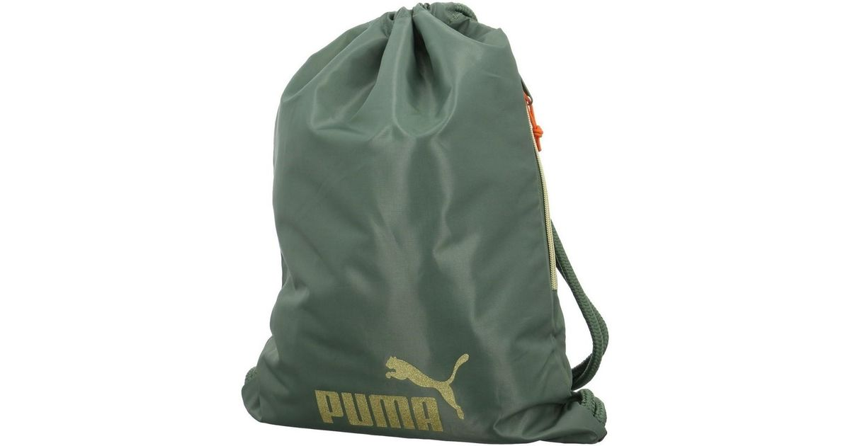 PUMA Core Gym Back Seasonal Women s Backpack In Green in Green for Men -  Lyst 9afaee8e13