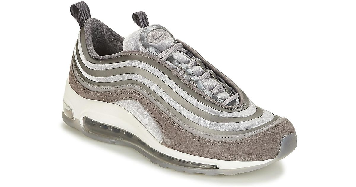 online store c005a 8a0c0 Nike Air Max 97 Ultra Lux W Women s Shoes (trainers) In Grey in Gray - Lyst