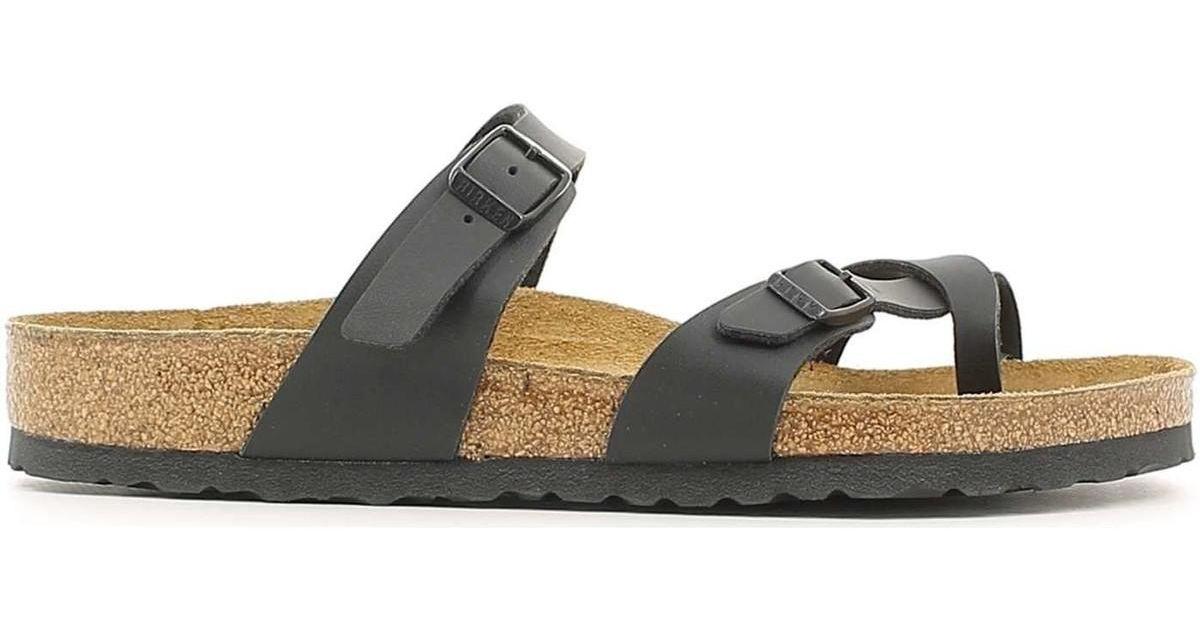 eb7e578e146 Birkenstock 071791 Flip Flops Man Black Men s Flip Flops   Sandals (shoes)  In Black in Black for Men - Lyst