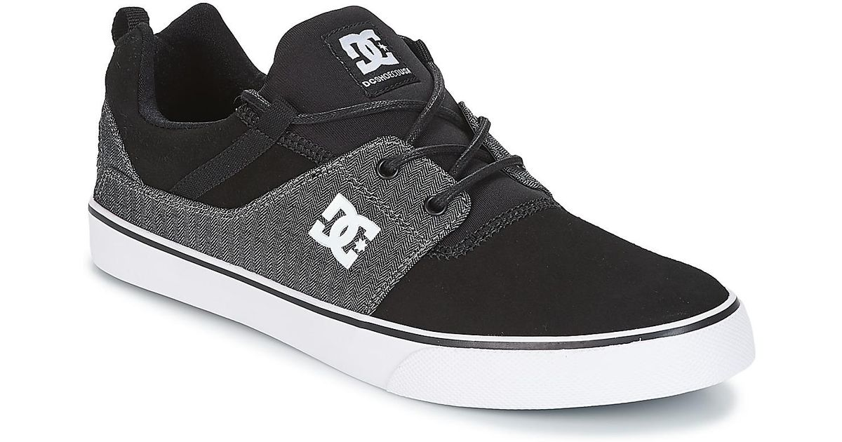 DC Shoes Heathrow V Se M Shoe Bkd Shoes (trainers) in Black for Men - Lyst 18b01b32ba0cf