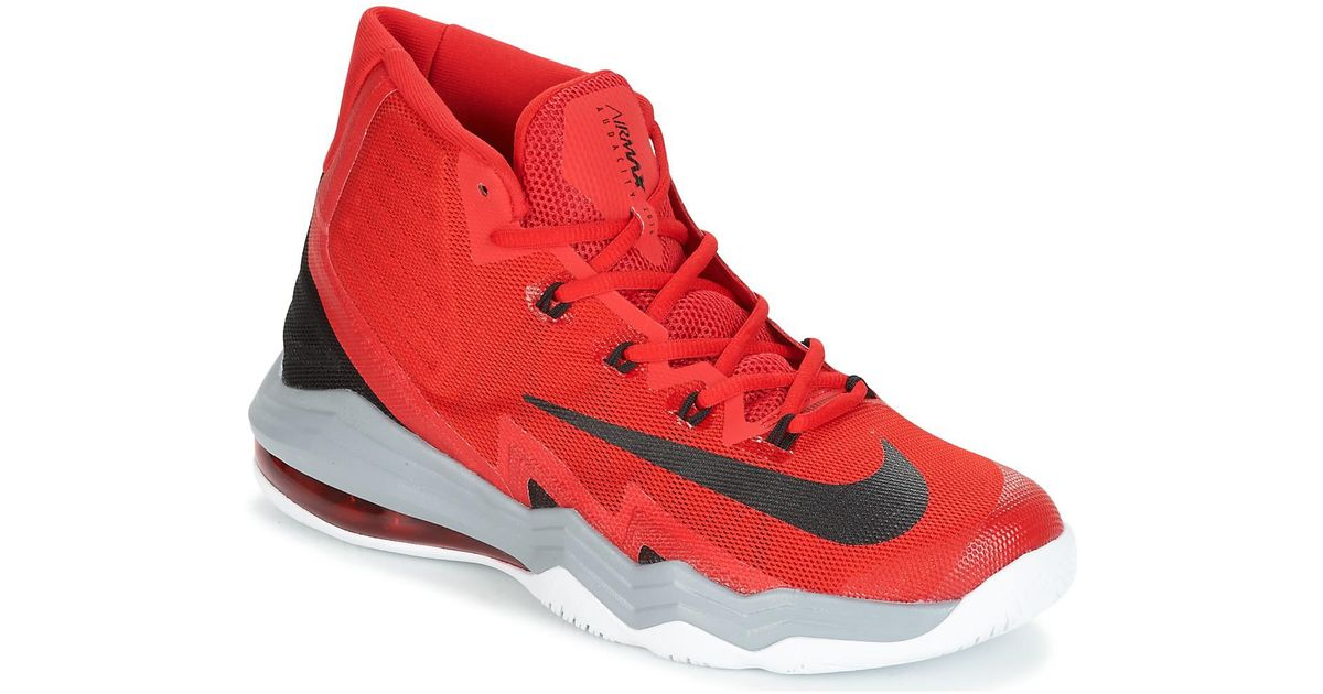 best website 35f0e 5db22 Nike Air Max Audacity 2016 Men s Basketball Trainers (shoes) In Red in Red  for Men - Lyst