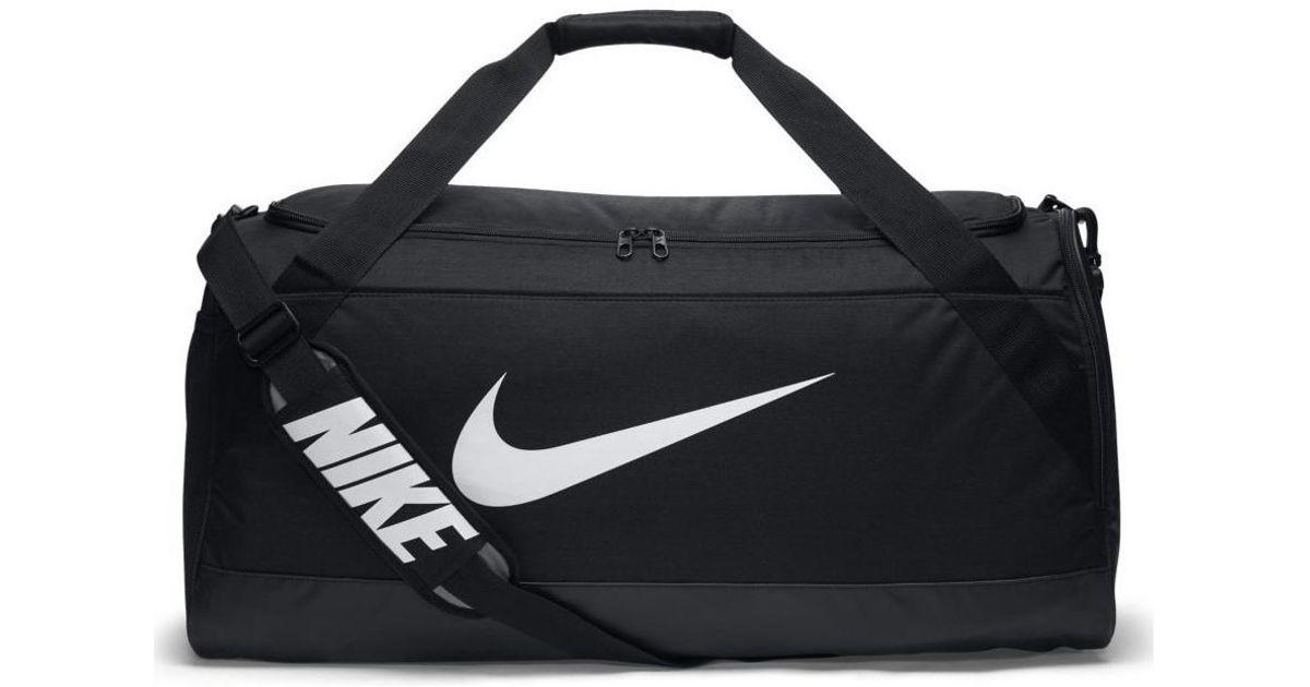 a7991ca9a34c Nike Brasilia Large Training Duffel Bag Men s Sports Bag In Black in Black  for Men - Lyst