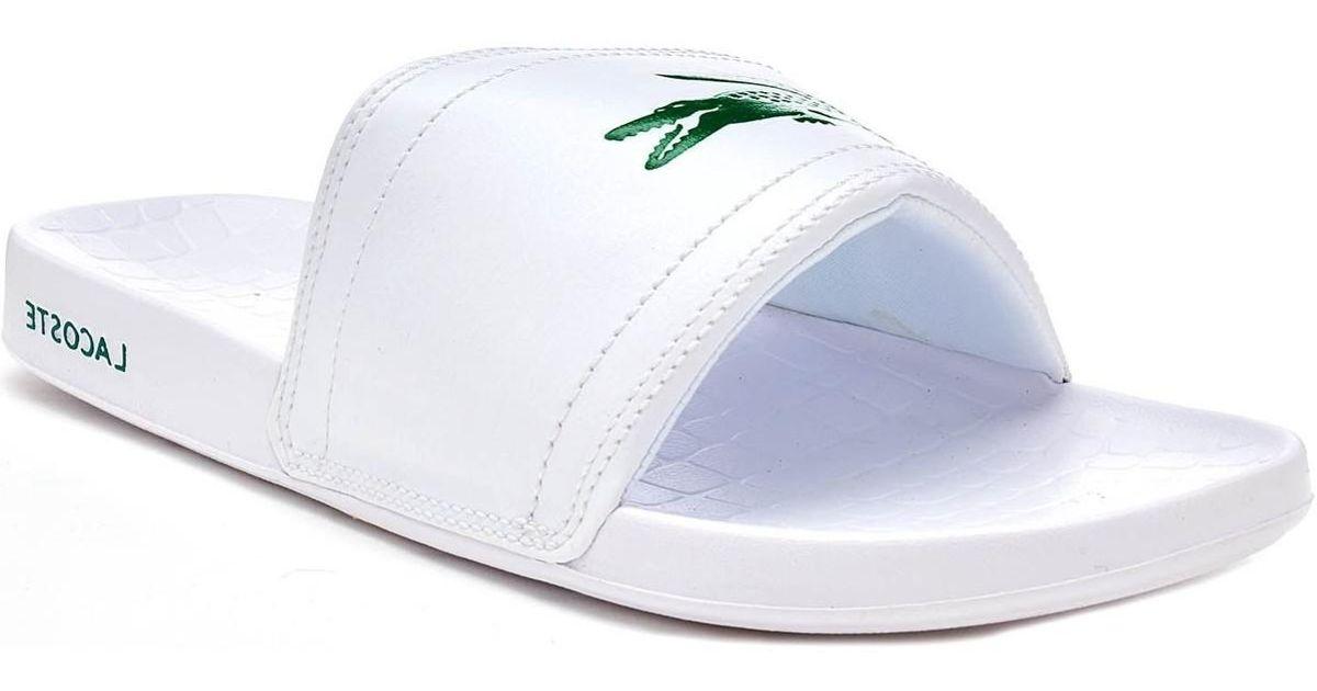 1cd58b1b1d0 Lacoste Fraiser Brd1 Platform Sandal in White for Men - Lyst