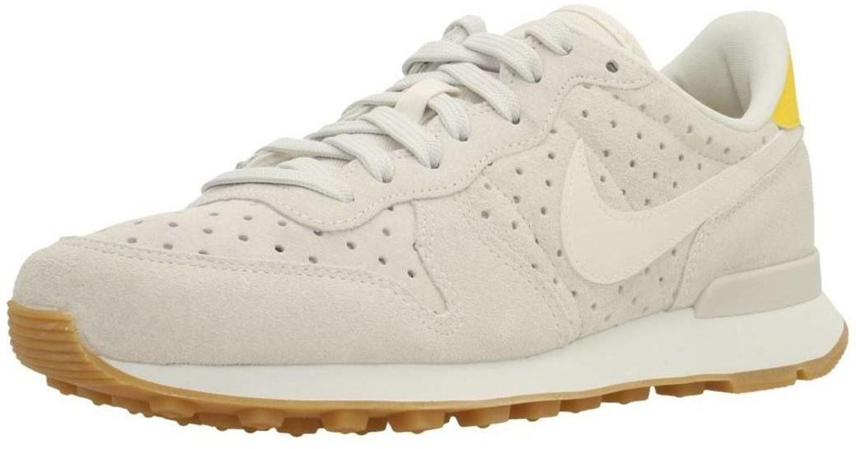 finest selection aefd5 85d3b Nike Internationalist Prm Women s In Beige in Natural - Lyst