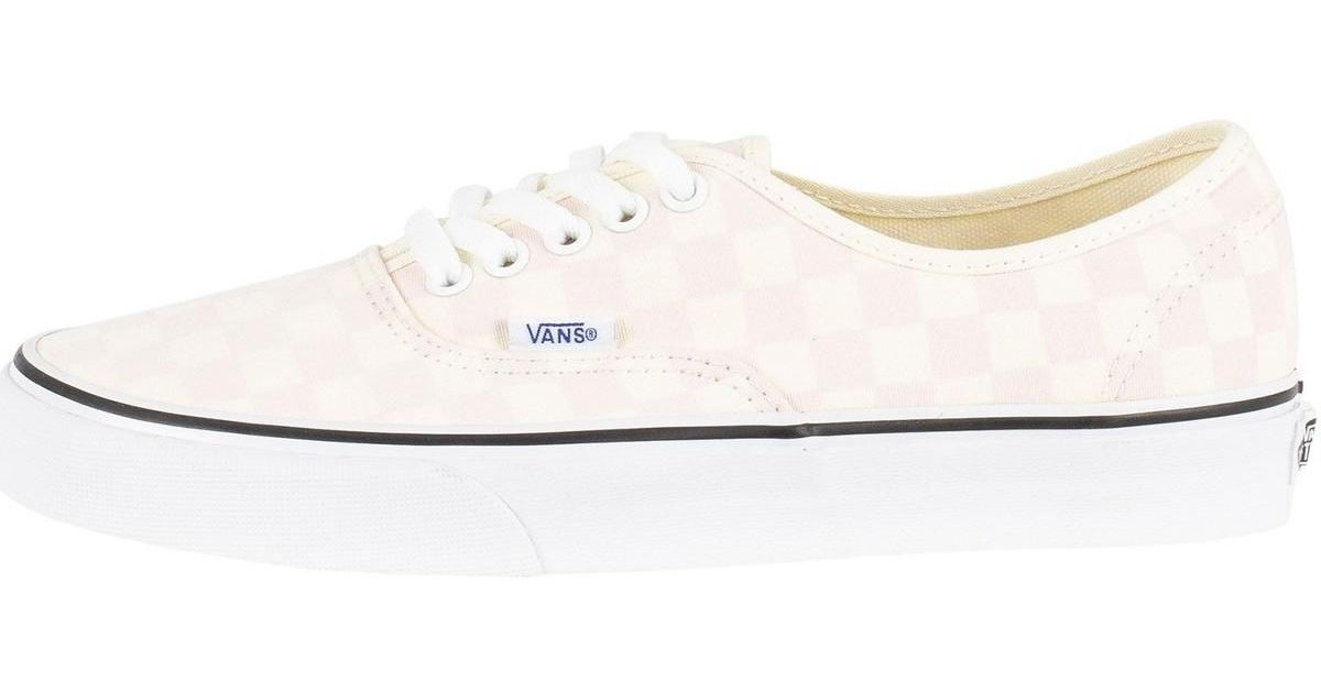 cfb88858e9c Vans Men s Authentic Checkerboard Trainers