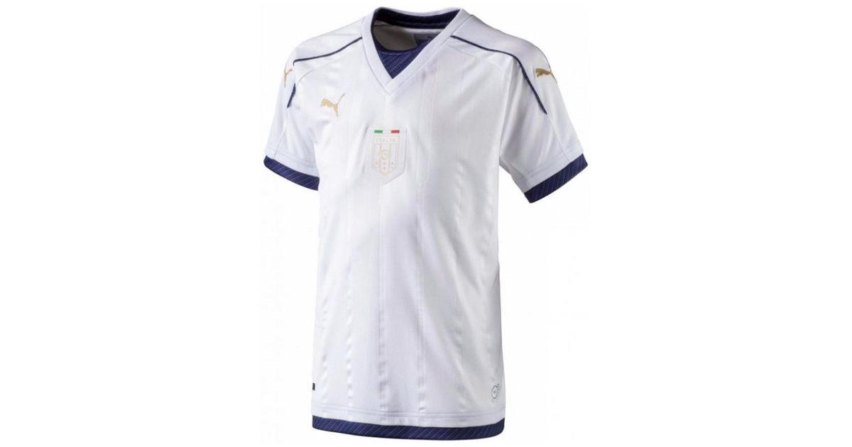 b56e39cd5 Puma Italy 2006 Tribute Away Shirt (kids) Men s T Shirt In White in White  for Men - Lyst