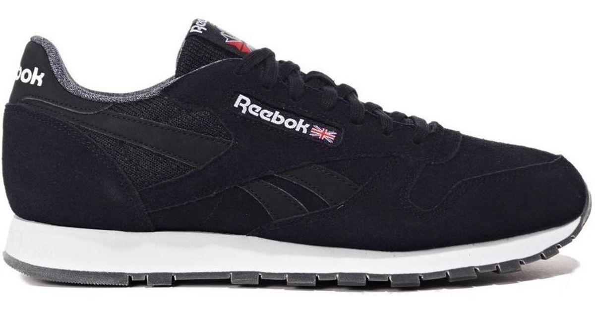 1f2c921cf0d Reebok Classic Leather Nm Men s Shoes (trainers) In Black in Black for Men  - Lyst