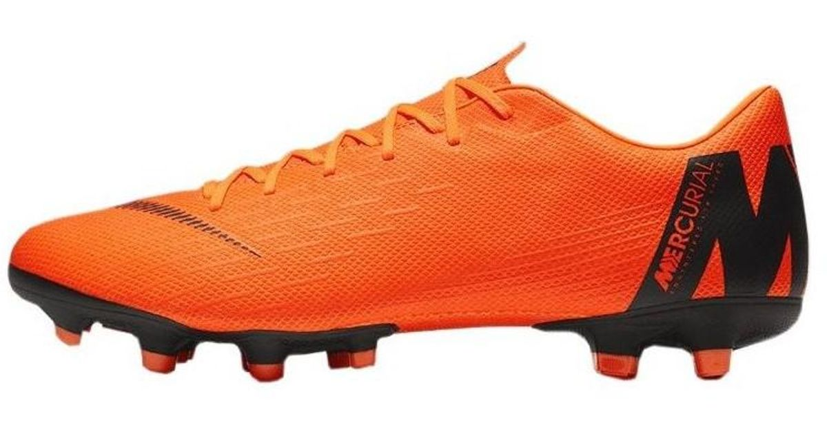 8c1a52037e Nike Mercurial Vapor 12 Academy Fg Mg Fast By Nature Men's Football Boots  In Orange in Orange for Men - Lyst