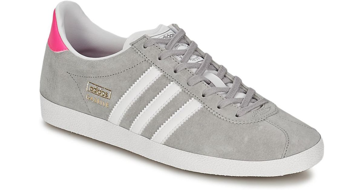 Adidas Gray Gazelle Og W Women's Shoes (trainers) In Grey Lyst