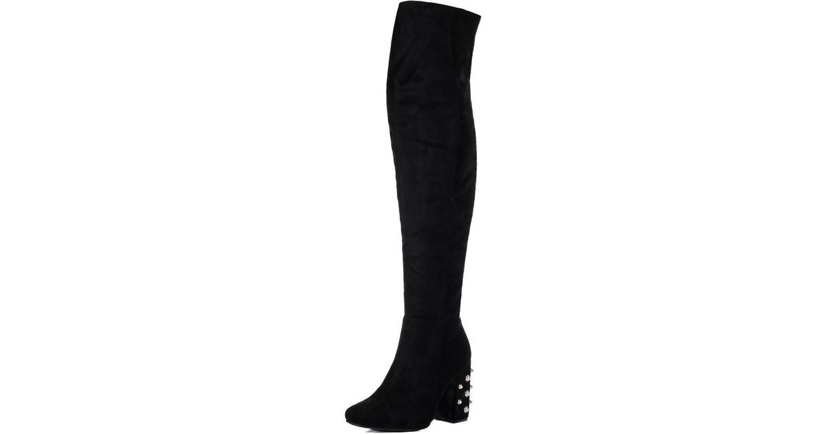 Lyst Black in In Spylovebuy Black Women's Boots Freya Mid fZqf8wvp0
