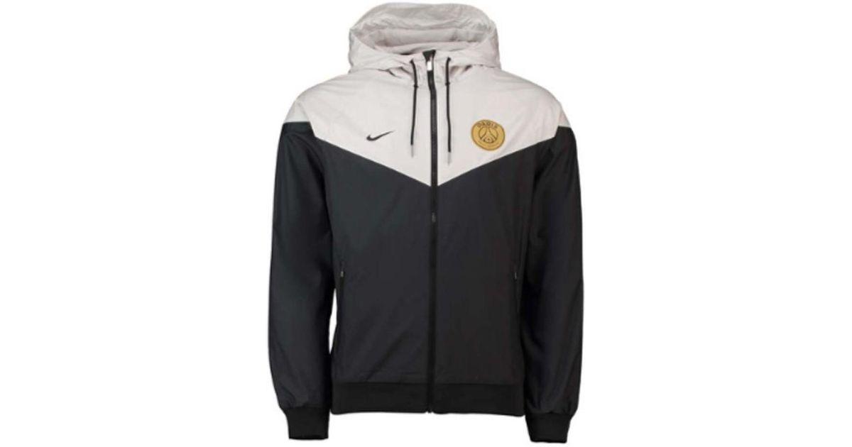 Nike 2018 2019 Psg Authentic Windrunner Jacket Women's Jacket In Black
