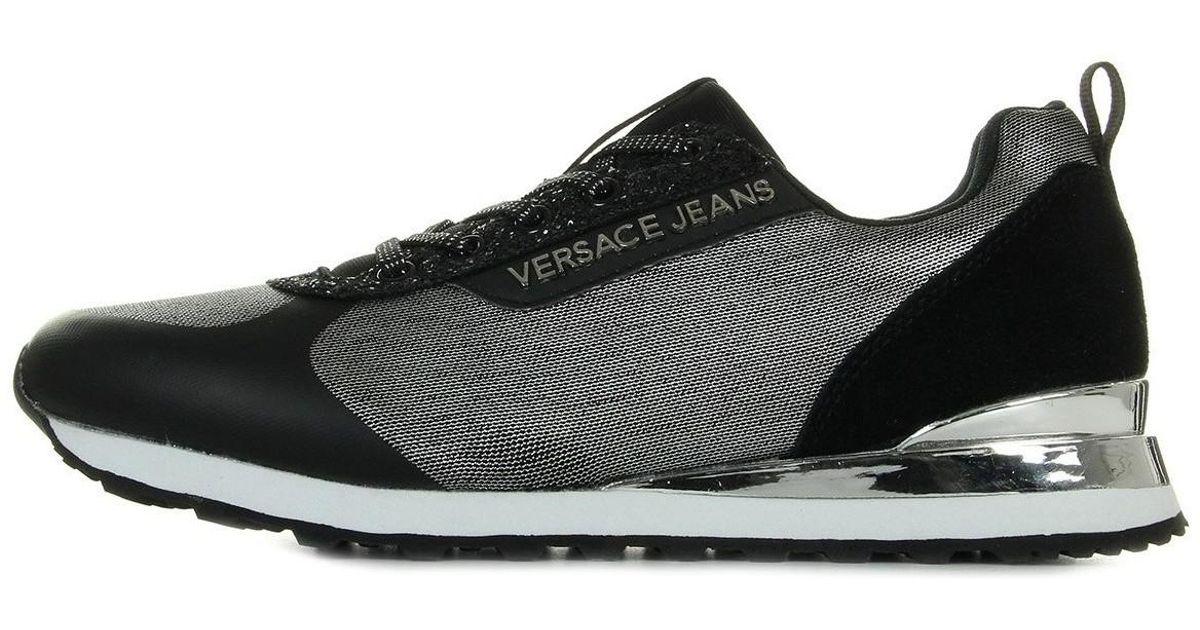 874d13a8e4ce9 Lyst - Linea Fondo Amber Dis 1 femmes Chaussures en Noir Versace Jeans en  coloris Noir