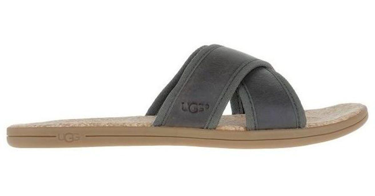 217160ee38b Ugg - Multicolor Seaside Slike Men's Sandals In Multicolour for Men - Lyst