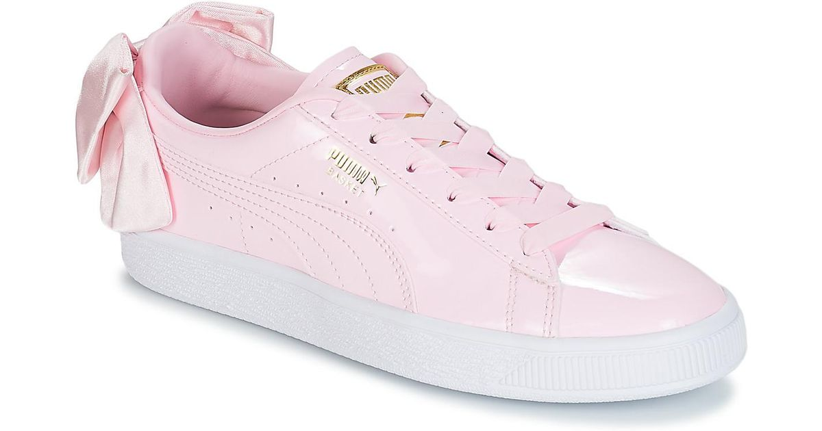 puma bow trainers pink - 61% OFF