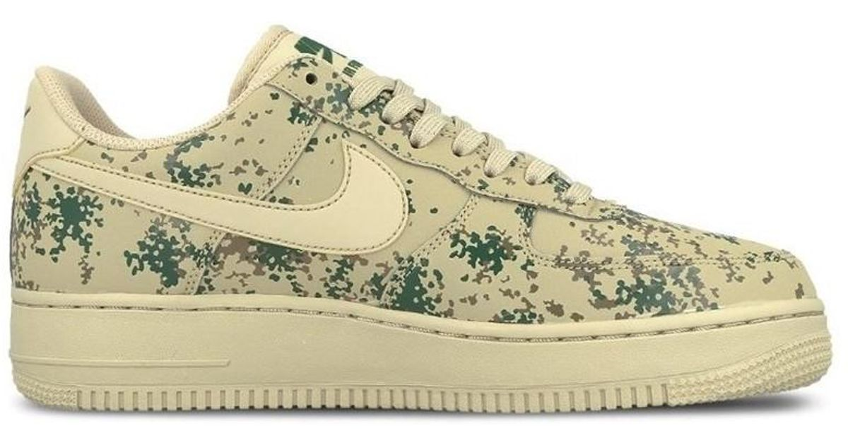 cf3f243bc889f Nike Air Force 1 07 Lv8 Country Camo Pack Men's Shoes (trainers) In Beige  in Natural for Men - Lyst
