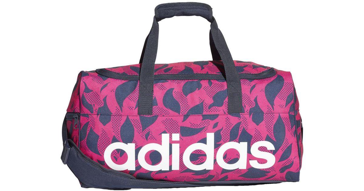 Femmes Sport En Rose Sac Lyst Adidas De Pour Linear Travel tn7OUq