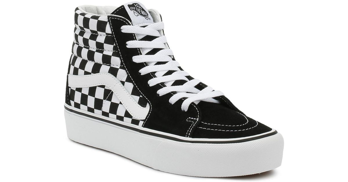 ea700d41217b16 Vans Sk8-hi Platform 2.1 Women s Shoes (high-top Trainers) In Black in Black  - Lyst