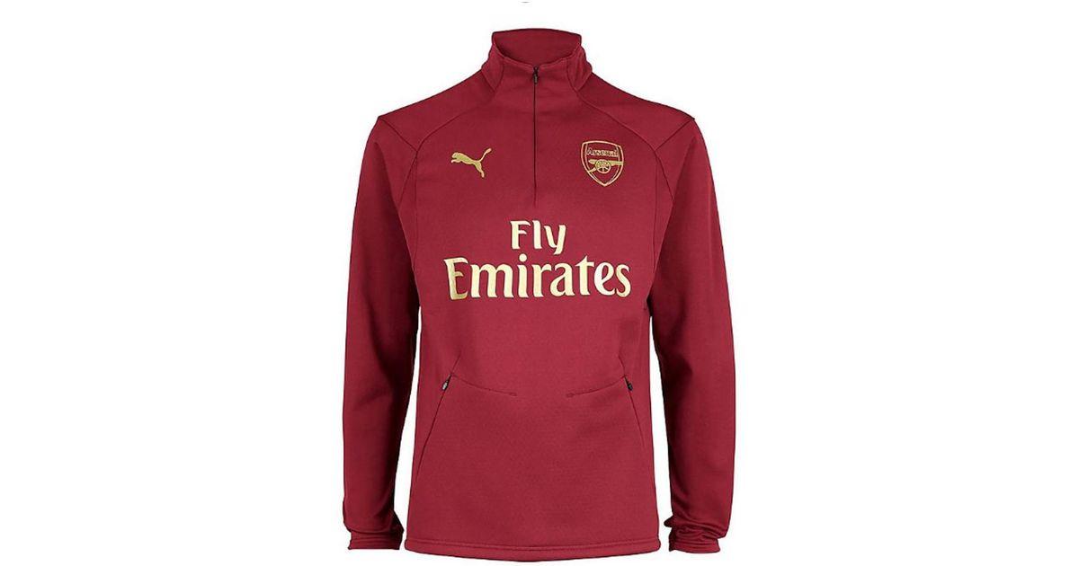 24ea4ed54f805f PUMA 2018-2019 Arsenal Training Fleece Men's Sweatshirt In Red in Red for  Men - Lyst