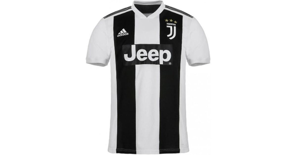 abfa0858d4 adidas 2018-2019 Juventus Home Football Shirt Men's T Shirt In White in  White for Men - Lyst