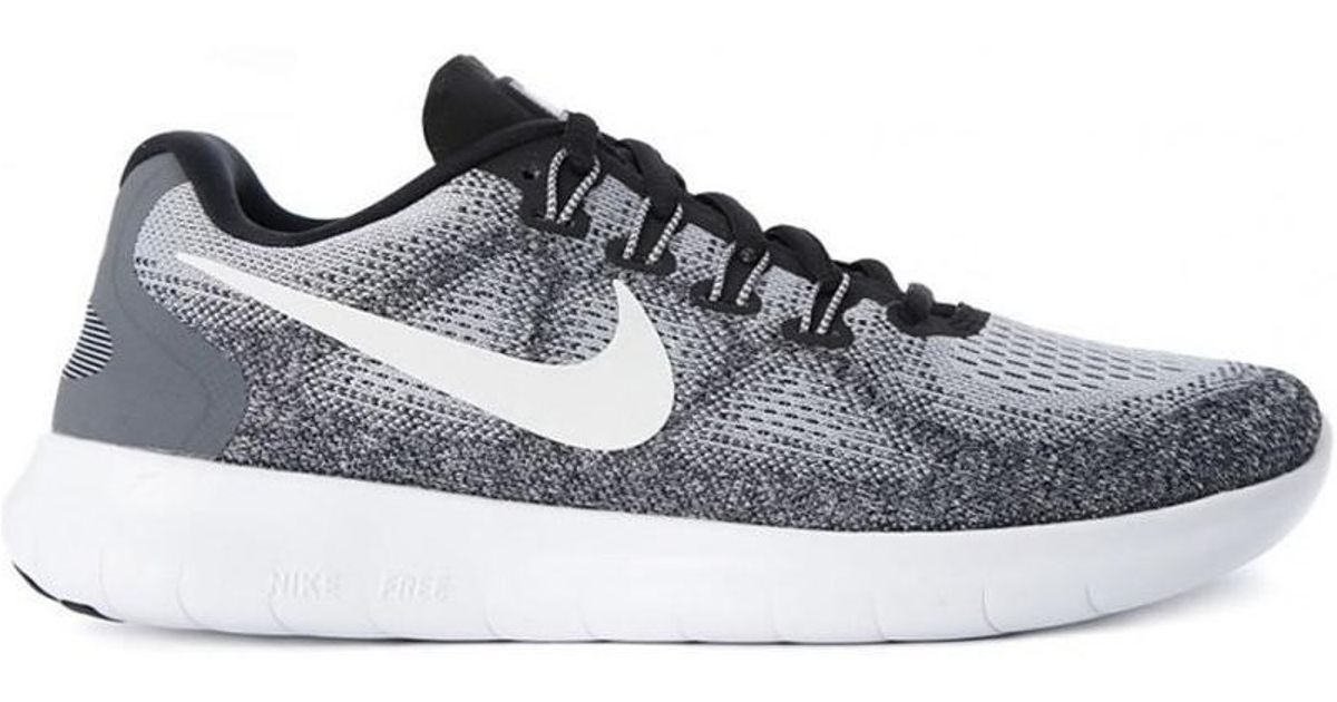 3019600f3f87 Nike Free Run Rn 2017 Women s Shoes (trainers) In Grey in Gray - Lyst