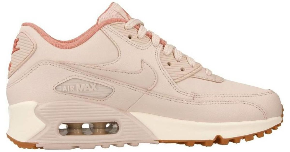 Nike Air Max 90 Lea Women's Shoes (trainers) In Pink