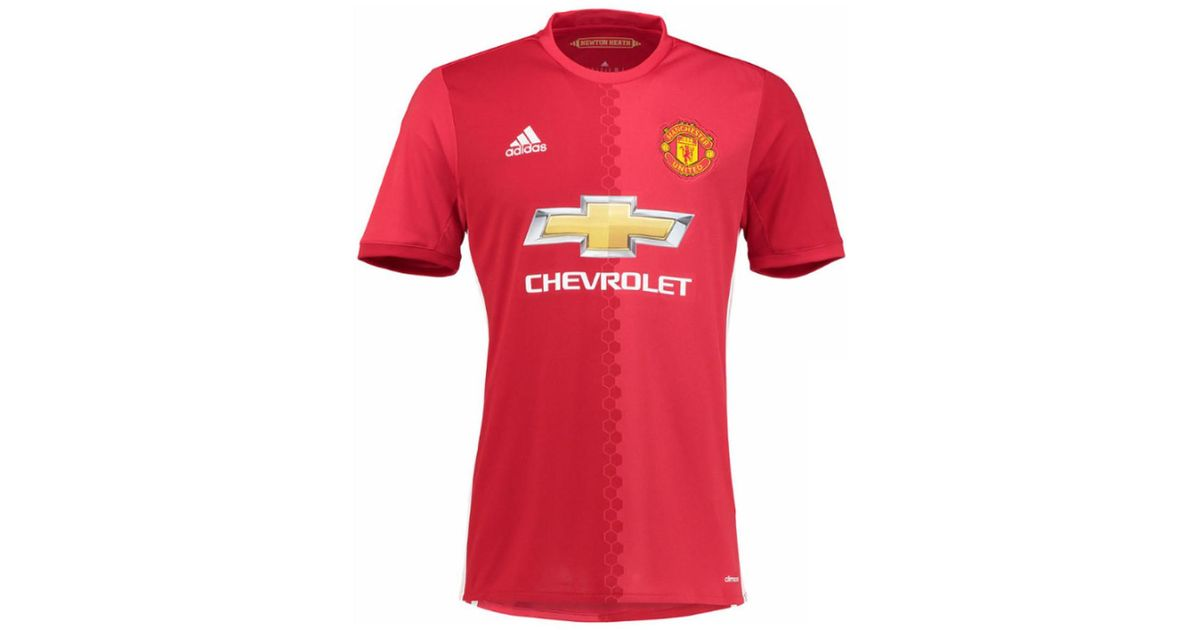promo code 7fd09 7de6f Adidas - 2016-17 Manchester United Home Shirt (rashford 19) Men's T Shirt  In Red for Men - Lyst